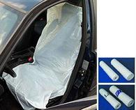 Ochranné povlaky - potahy PE na přední sedadla 200 ks
