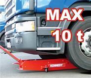 Pojízdný hydraulický zvedák (hever) 10 tun
