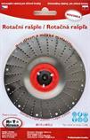 Rotační rašple pro úhlové brusky 115x22,2 mm čepel 2,0mm ROTO (červená)