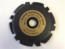 Kotouč kaindl na dřevo Woodcarver GOLD