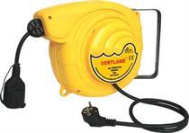 Samonavíjecí buben s elektrickým kabelem a zásuvkou GDT120 12m
