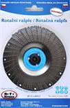 Rotační rašple pro úhlové brusky 115x22,2 mm čepel 1,5mm ROTO (modrá)