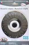 Rotační rašple pro úhlové brusky 115x22,2 mm čepel 2,5mm ROTO (bílá)