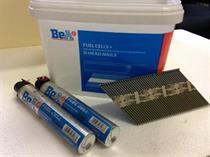 Hřebíky do hřebíkovačky s D hlavou D34 2,9 x 65mm 2000ks + 2x plyn BEA