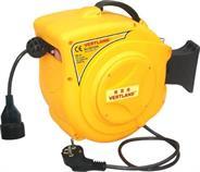Samonavíjecí buben s elektrickým kabelem a zásuvkou GDT200 20m