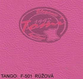 Koženka TANGO F-501 růžová