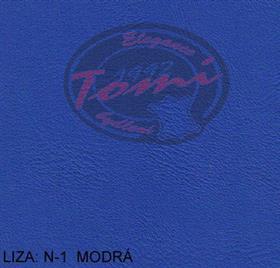 Koženka LIZA N-1 modrá