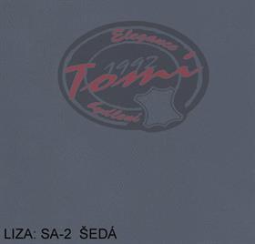 Koženka LIZA SA-2 šedá