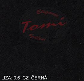 Koženka Liza CZ 0,6 černá - oděvní