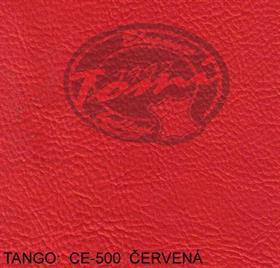 Koženka TANGO CE-500 červená