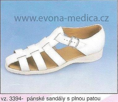 Pánské sandály s plnou patou