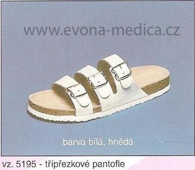 Pánské pantofle třípřeskové