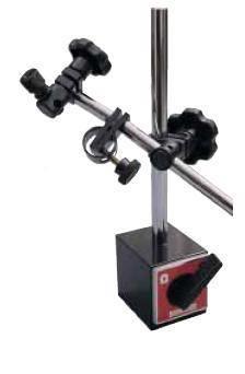 Magnetický stojan s pákovým přepínačem a jemným stavěním