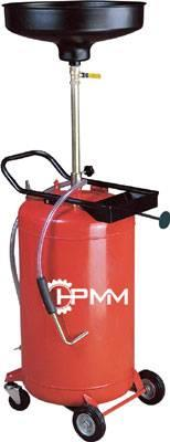 Pojízdná pneumatická nádoba na vyjetý olej HC-2081