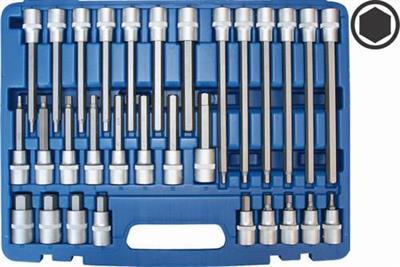 Sada zástrčných šestihraných hlavic Genborx JBTK 1030-H