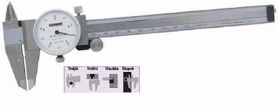 Posuvné měřítko analogové s číselníkem 150mm