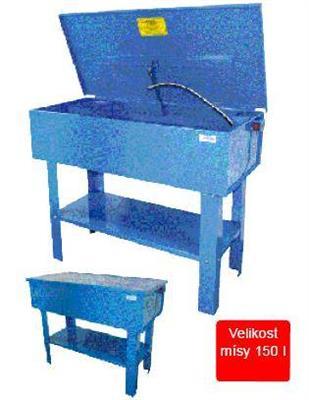 Mycí stůl 150l, myčka dílů GTW 150 L Gude
