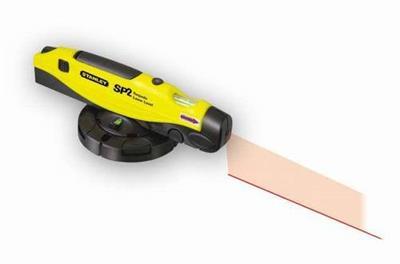 Laserová vodováha s otočným podstavcem SP2