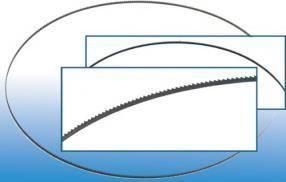 Pilový pás vhodný pro pásovou pilu GBS 315 UG, GÜDE