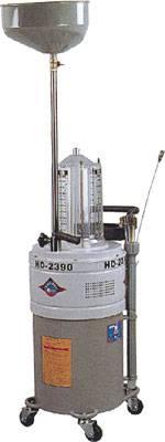 Pojízdná elektrická nádoba na olej s odsávačkou a průhlednou nádobkou HD-2390
