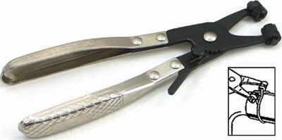 Kleště na jednoduché samosvorné hadicové spony 058-6014A