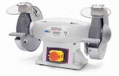 Dvoukotoučová bruska Opti SM 200 (400 V) BOW