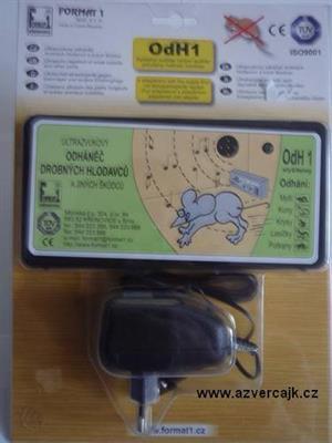 OdH1SA - Odháněč hlodavců ultrazvukový OdH1 slyšitelný, s adaptérem