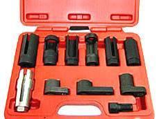 Sada hlavic pro montáž/ demontáž snímačů a vstřikovačů 058-62219