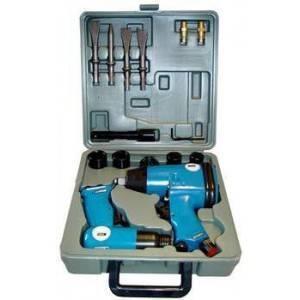 Souprava pneumatických nástrojů 15 dílná, GÜDE