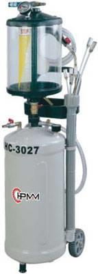 Pojízdná pneumatická odsávačka vyjetého oleje s průhlednou nádobkou HC-3027