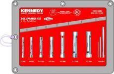 Sada klíčů trubkových 7ks 6-19mm, KENNEDY