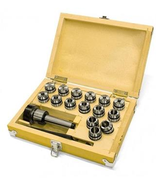 Sada upínače MK2/M10/ER25 a kleštin 1,5-16 mm (15 ks)