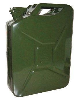 Kanystr 10l plechový na pohonné hmoty