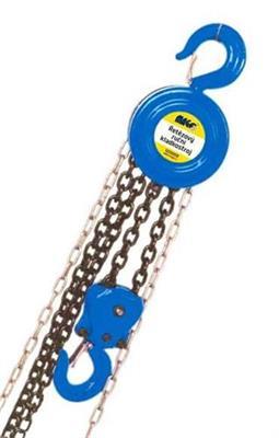 Řetězový kladkostroj ruční, zdvih 3m nosnost 0,5t