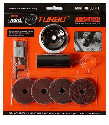Frézovací nástavec Mini Turbo-sada ARBORTECH