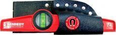 Vodováha pro stavebníky magnetická 250 mm, KENNEDY
