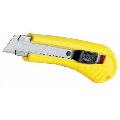 Nůž s odlamovací čepelí s pojistkou standard 180x18 STANLEY 1-10-280