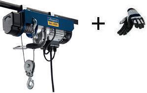 Naviják lanový elektrický HRS 400 Scheppach + rukavice ZDARMA