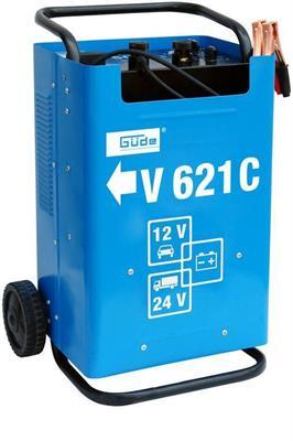 Nabíječka baterií, startovací vozík V 621 C, GÜDE 85075