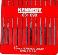 Pilníky jehlové v sadě 14 cm / 12 ks, KENNEDY