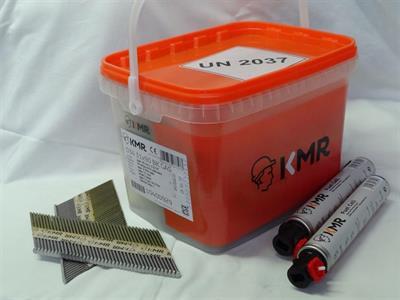 Hřebíky do hřebíkovačky s D hlavou D34 3,1 x 90mm 2000ks + 2x plyn BEA