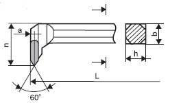 Soustružnický nůž SK 3773 20x20 K10