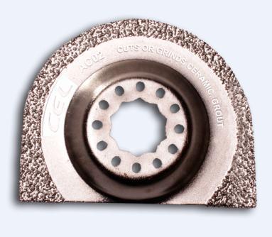 CEL diamantový půlkruhový řezací kotouček 65mm MT1-AC02