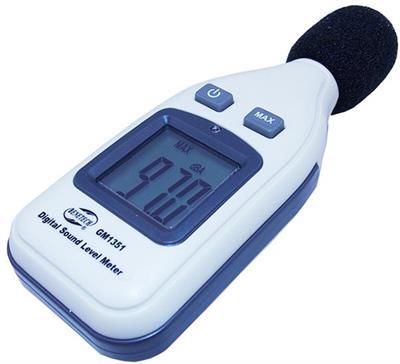 Digitální hlukoměr pro měření hladiny intenzity hluku GM1351