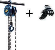 Řetězový kladkostroj ruční CB 01 Scheppach rukavice ZDARMA