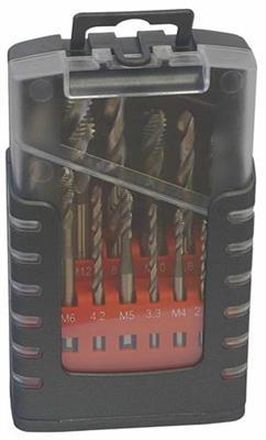 Sada strojních závitníků válcovaných typ E-1, HSS, M 3-12
