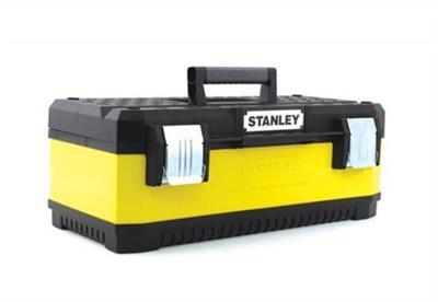 Kovoplastový box na nářadí - žlutý 23