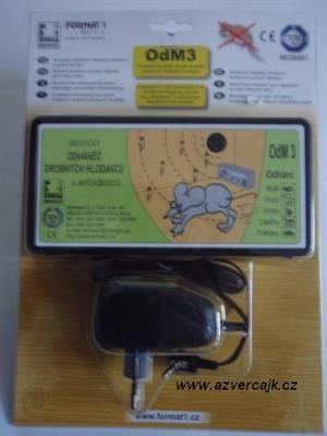 OdM3A - Odháněč akustický OdM3A bez regulace hlasitosti, s adaptérem v blistru