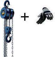 Řetězový kladkostroj ruční CB 02 Scheppach + rukavice ZDARMA