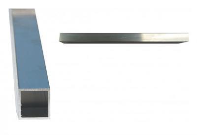Hliníkový jekl 30x30x2 (cena za 1m)